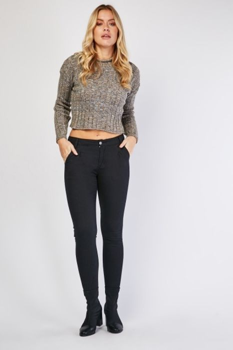 Skinny Cut Black Jeans at Everything 5 Pounds - Only £5!