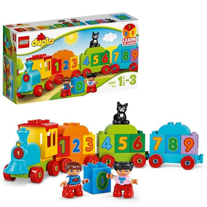 LEGO DUPLO My First Number Train Toy Building Set