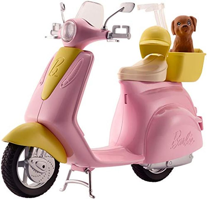 Barbie eSTATE Mo-Ped Motorbike for Doll,