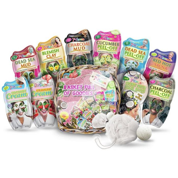 Cheap 7th Heaven Face Mask Gift Basket Full of Goodies, Only £9.99!