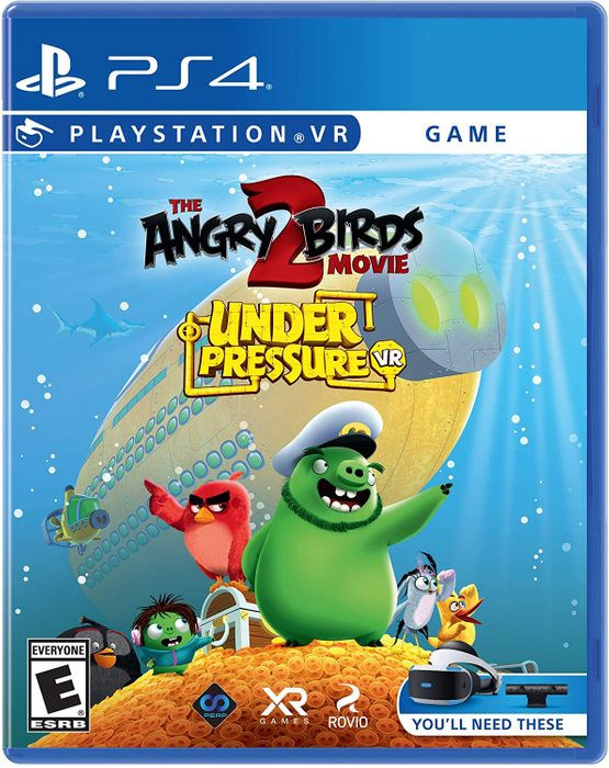 Cheap PS4 / PSVR the Angry Birds Movie 2: Under Pressure VR Only £13.85
