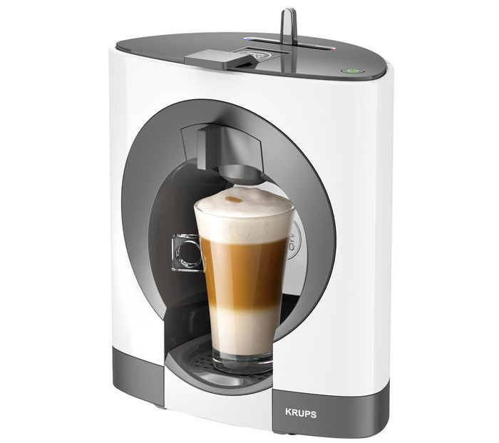 Cheap KRUPS Dolce Gusto Oblo Hot Drinks Machine - White/Black - Save £61!