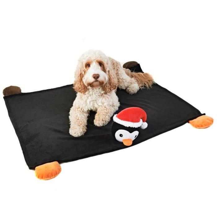 Penguin Christmas Pet Blanket
