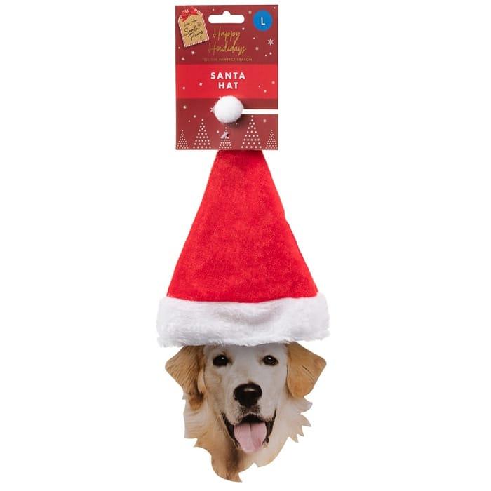 Dogs Santa Hat