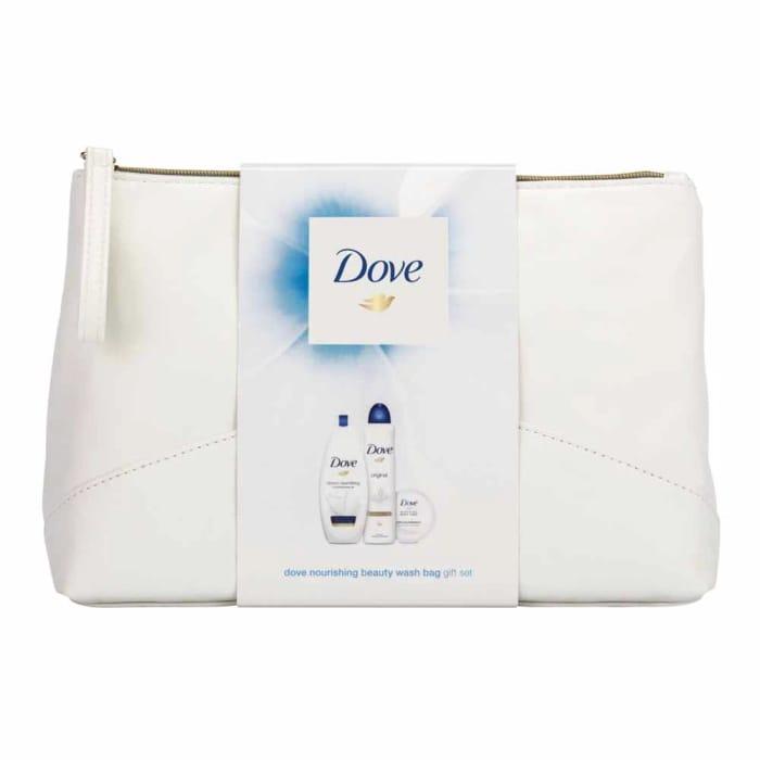 Cheap Dove Nourishing Beauty Wash Bag Gift Set with 50% Discount - Great buy!