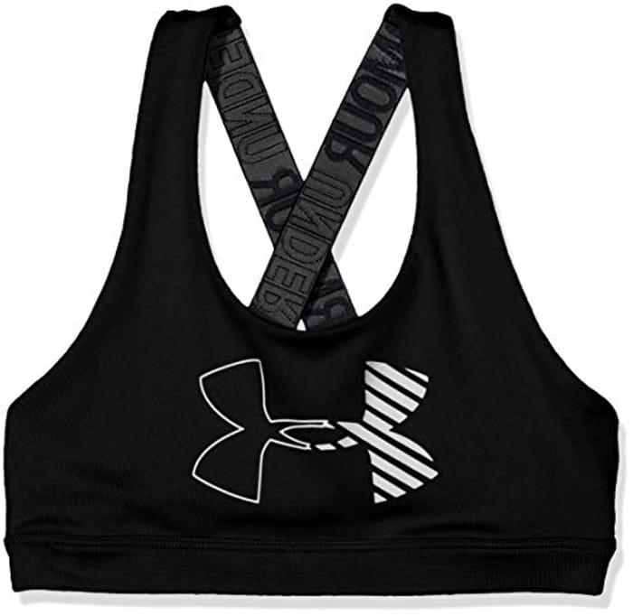 Under Armour Girls HeatGear Graphic Bra Sport Size M