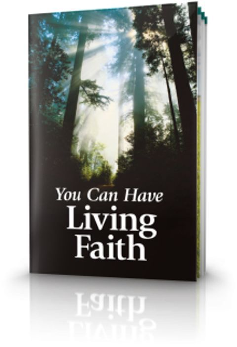Free Reading Book - You Can Have Living Faith.