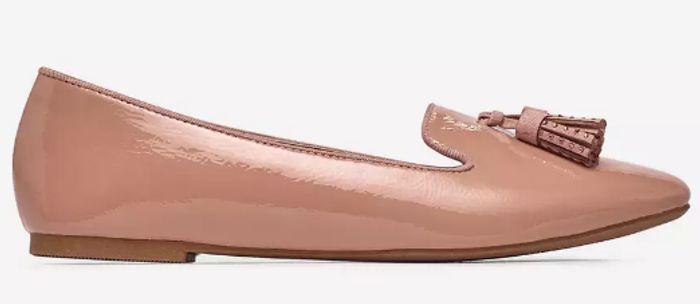 Dorothy Perkins - Pink Petal Ballerina Pumps (Size 5)
