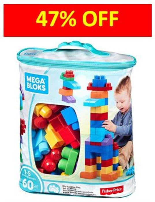 Almost Half Price! MEGA BLOKS Big Building Bag - AMAZON #1 BEST SELLER