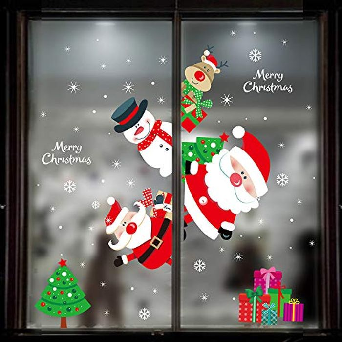 Christmas Window Decorations - Save £0.33!