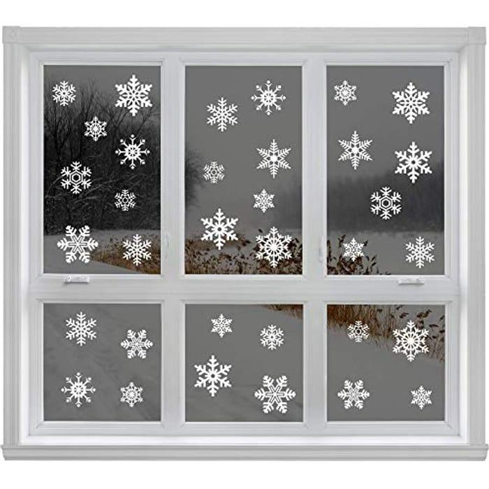 Articlings 42 Original Snowflake Window Clings