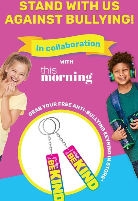 Free Be Kind Keyring from Smiggle Stores