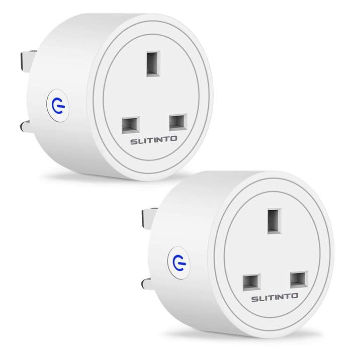 2 Pcs WiFi Smart Plug Socket - 43% Off with Code!