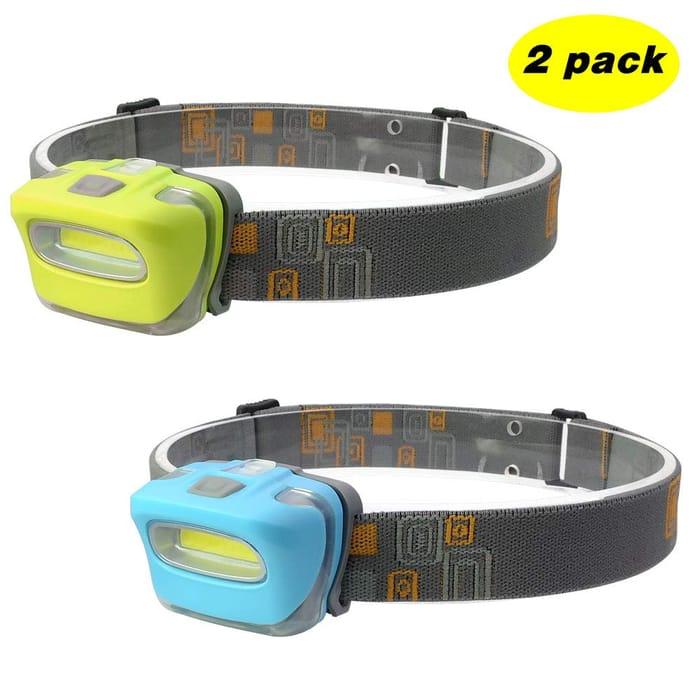 Deal Stack - Portable LED Headlamp - 15% off + Lightning Deal
