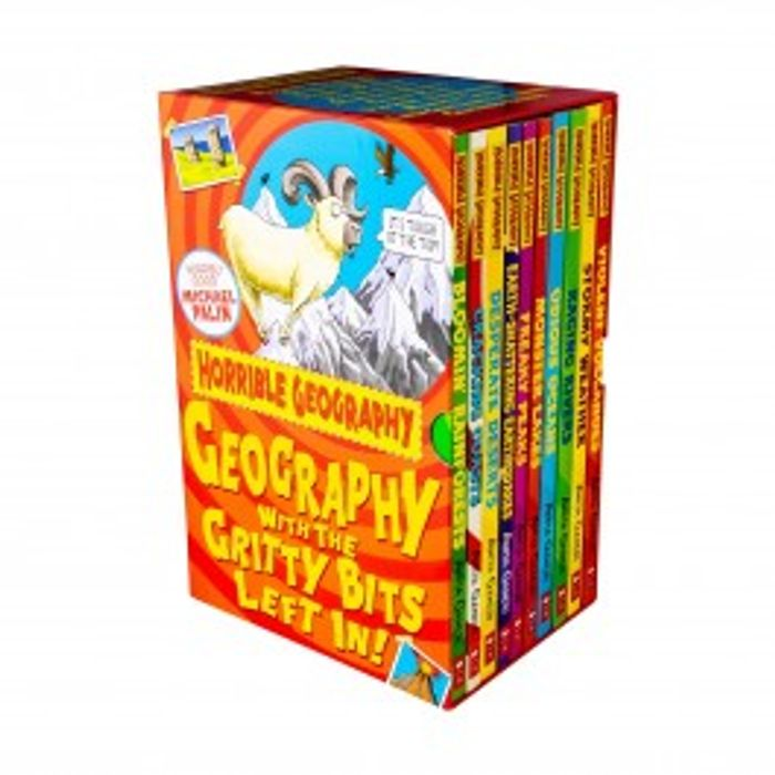 Horrible Geography 10 Book Collection