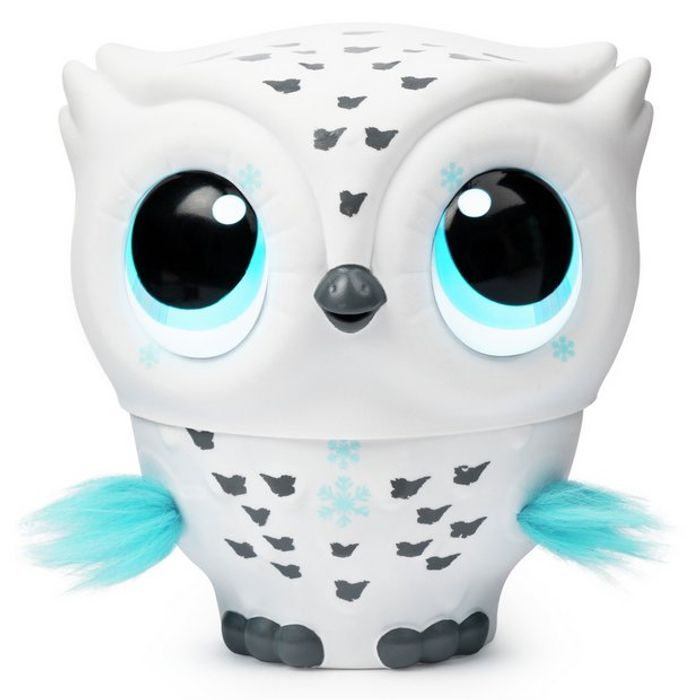 Owleez Interactive Flying Toy Pink or White Was £50 Now £32 - Top Toy