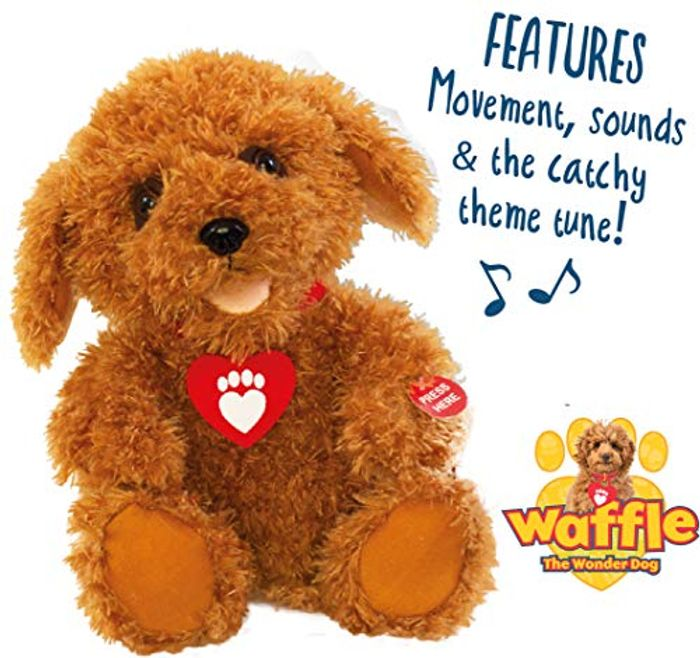 Waffle the Wonder Dog - Interactive Soft Toy with Fun Sounds, Phrases and Song