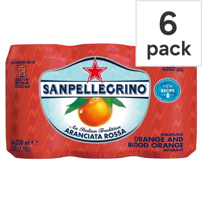 San Pellegrino 6 X 330ml (All Flavours)