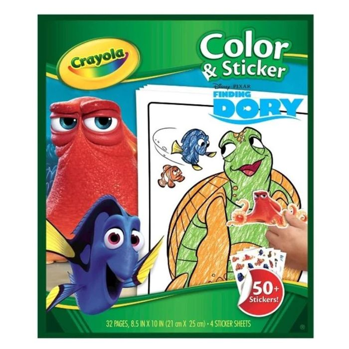 Crayola Finding Dory Colouring & Sticker Set