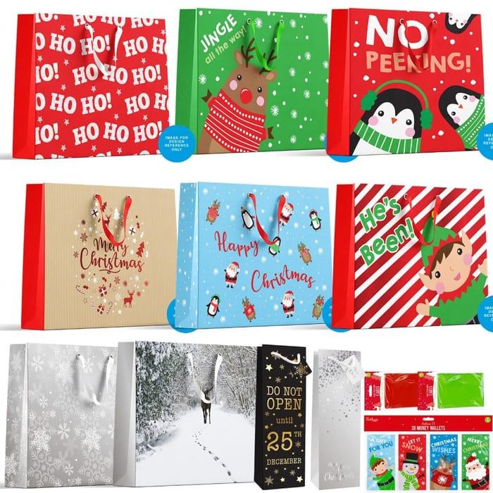 Luxury Extra Large Christmas Gift Bags