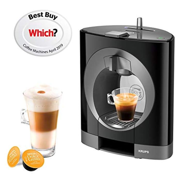 NESCAFE Dolce Gusto Oblo Coffee Machine - Black or White