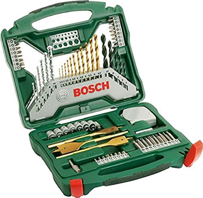 Cheap Bosch 2607019329 Titanium Drill and Screwdriver Set, Only £17.99!