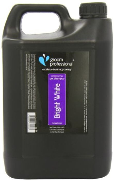 15% off First Subscription Groom Professional Bright White Shampoo, 4 Litre