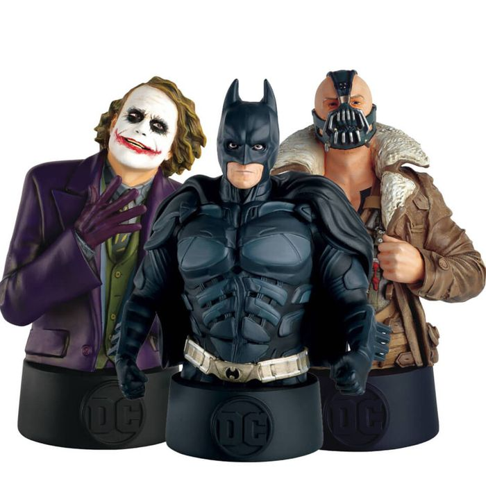 Ultimate 3-Pack Bust - DC Comics the Dark Knight Trilogy