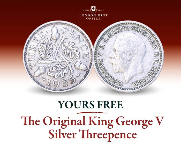 King George v Silver Threepence