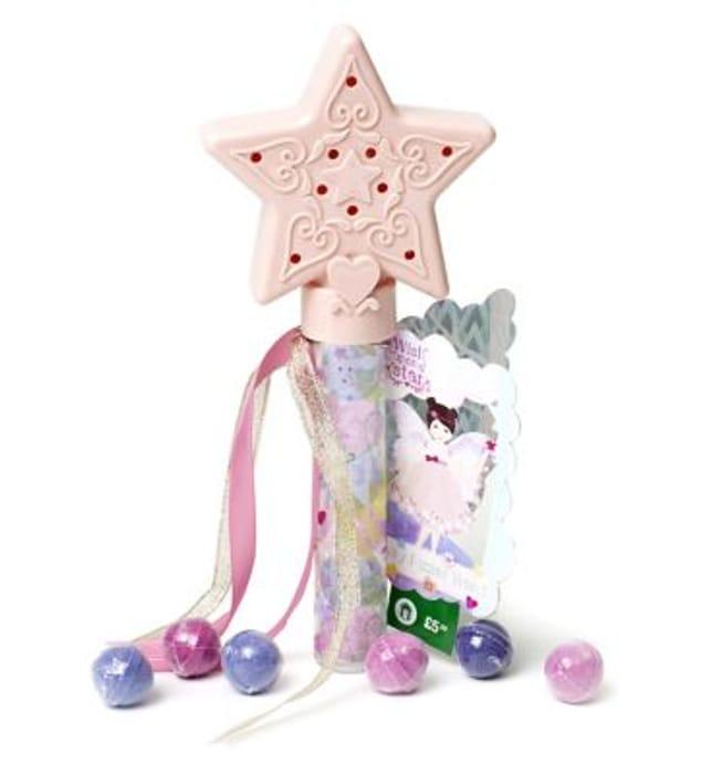 Wish upon a Star Bath Fizzer Wand Half Price