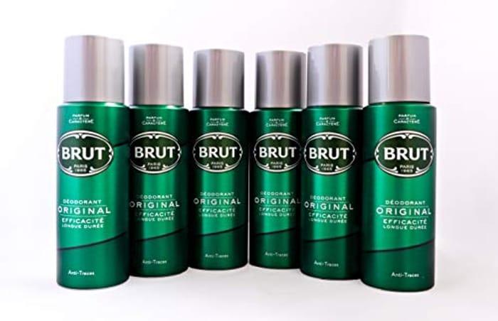 BRUT Original Body Spray Deodorant Bundle 6 X 200ml