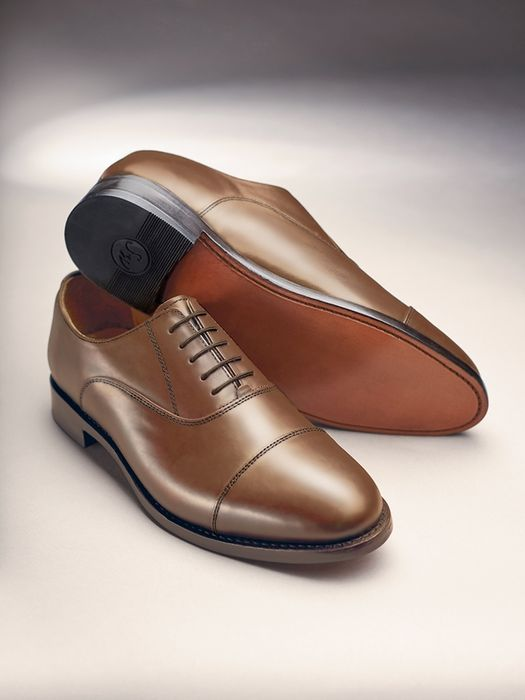 Classic Oxford Leather Shoes - Most Sizes