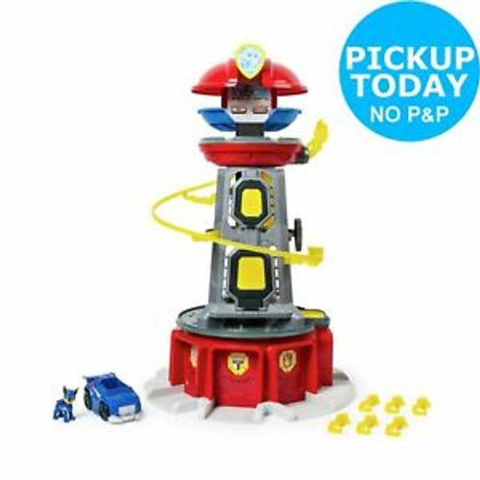 PAW Patrol Mighty Lookout Tower 29%off@ Argos Ebay