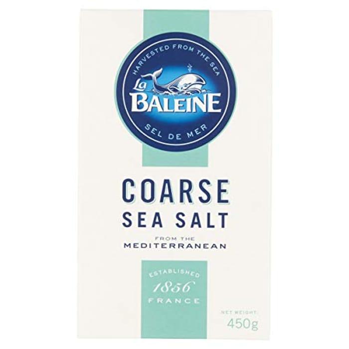 La Baleine Coarse Sea Salt Box 450g (Pack of 12)