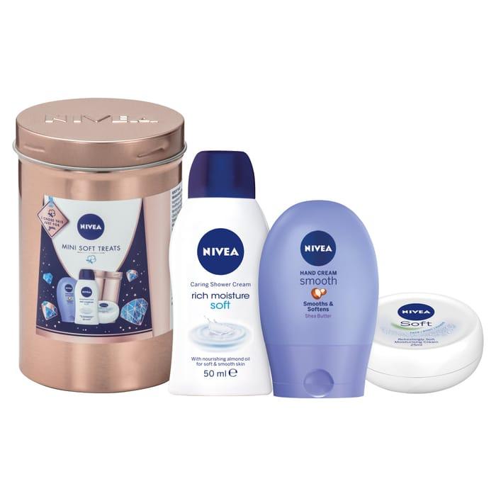 Nivea Mini Soft Treats Gift Set HALF PRICE