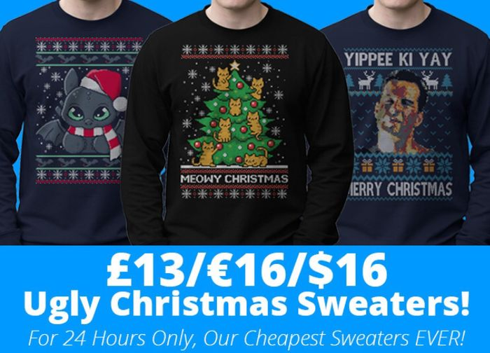 Christmas Sweaters Special Price £13