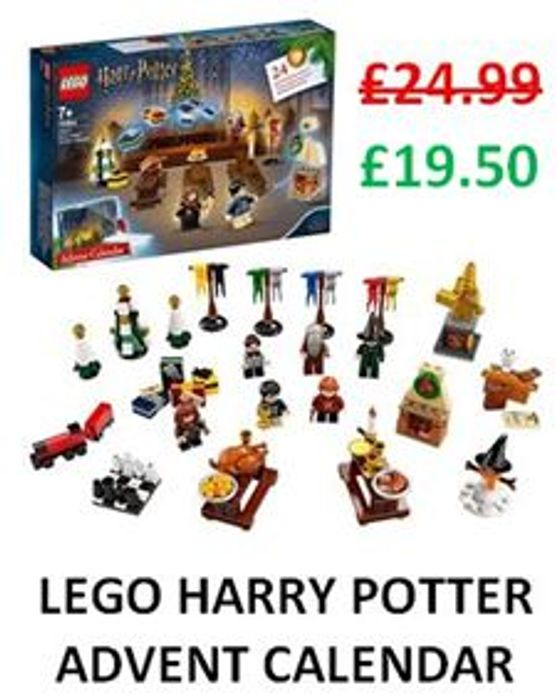 SAVE £5.49 at Amazon - LEGO HARRY POTTER Advent Calendar 2019 (75964)