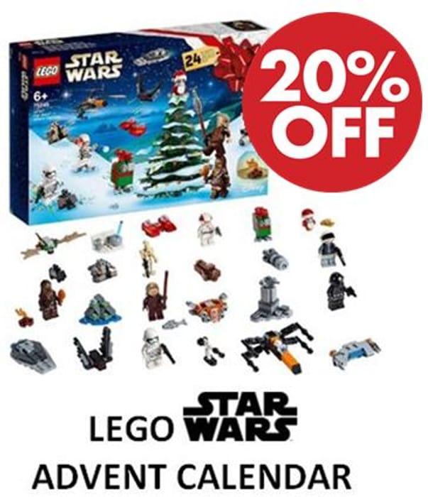 SAVE £5 TODAY! LEGO Star Wars Advent Calendar (75245)