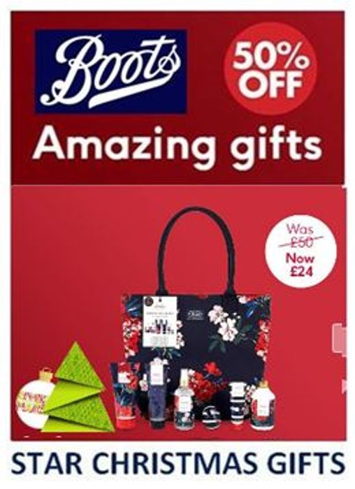 Boots - STAR CHRISTMAS GIFTS of the WEEK