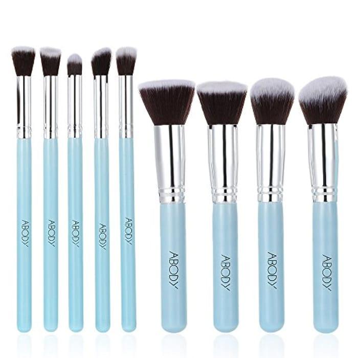Abody 9Pcs Makeup Brush Set