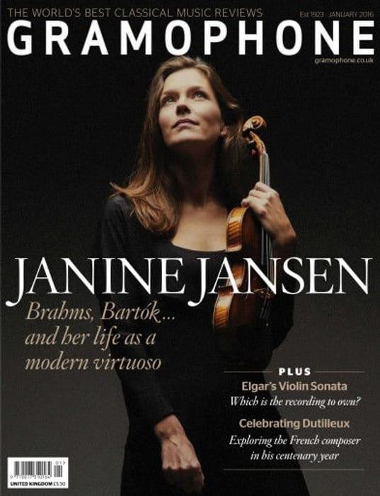 Free Copy of Gramophone Magazine.