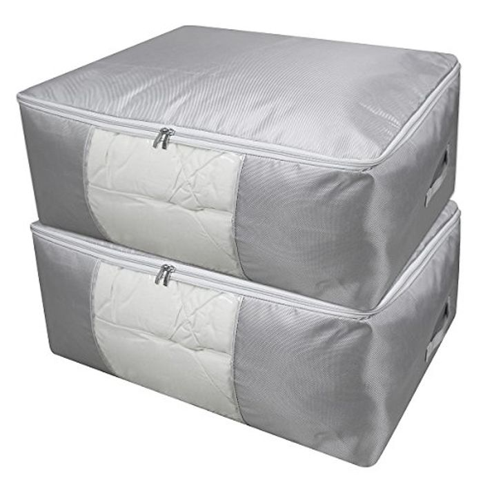 Duvets Storage Organizer Bag, Set of 2 - 50% Off