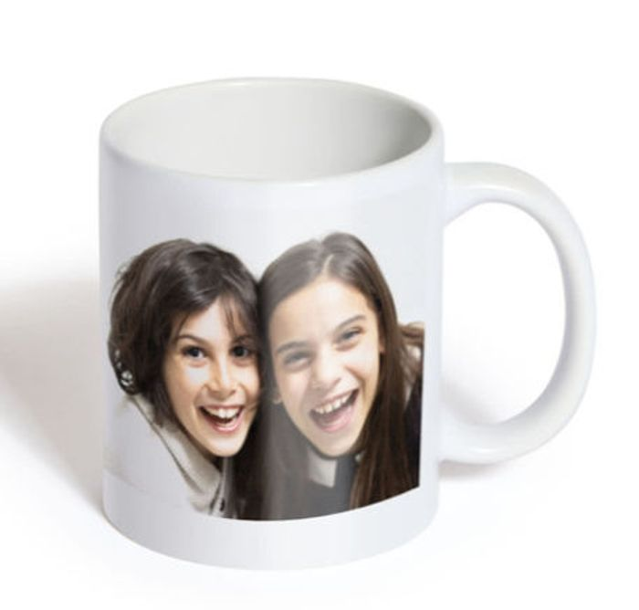 Free Personalised Photo Mug (Worth £8.99) Just Pay Postage