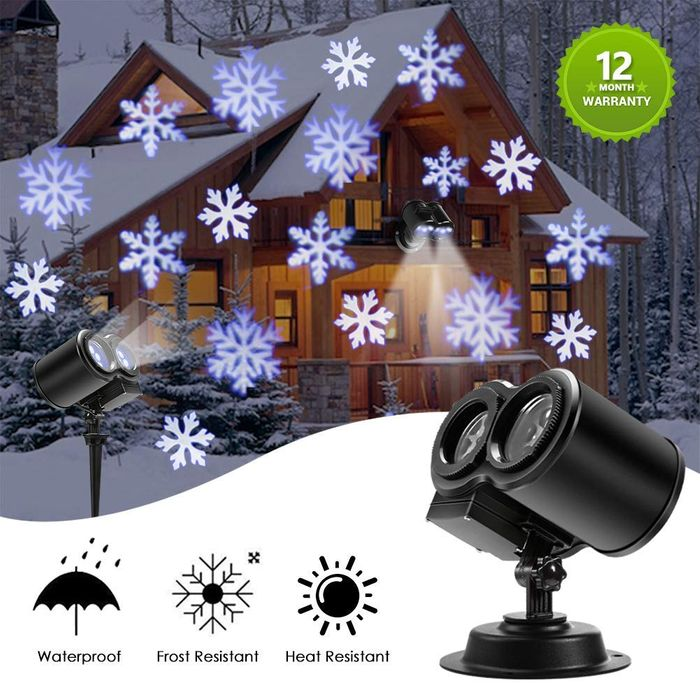 Deal Stack - Christmas Projector Lights - 50% off + Extra 10%