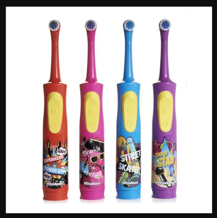 Wisdom Spin Kids Electronic Toothbrush Different Designs