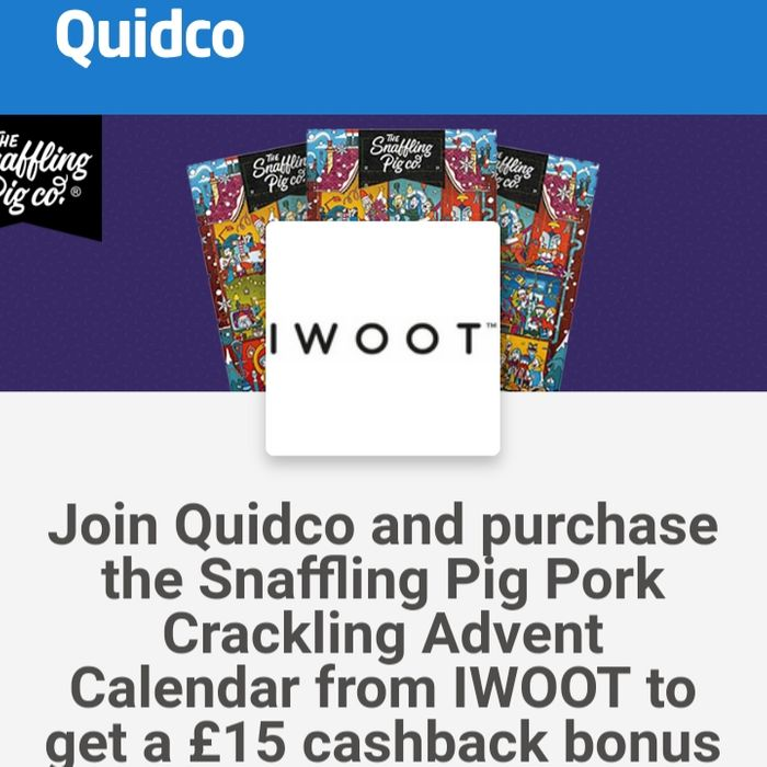FREE Snaffling Pig Advent Calendar [No Strings Attached]