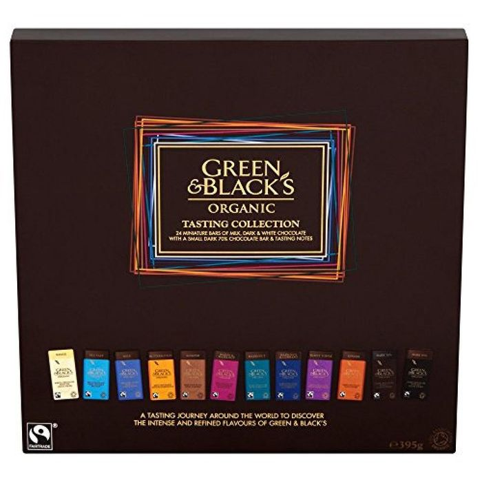 Green and Blacks Collection at Approved Foods
