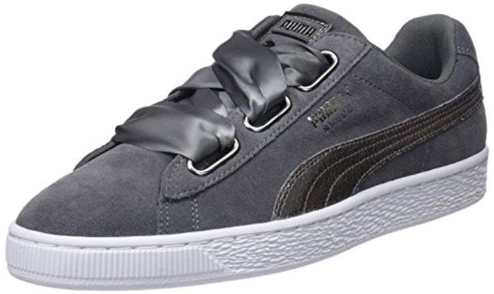 Ladies Puma Suede Low Top Sneakers