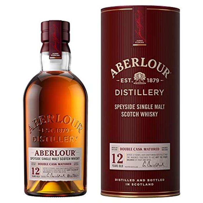 Aberlour 12 Year Old Single Malt Scotch Whisky, 70 Cl (Double Cask Matured)