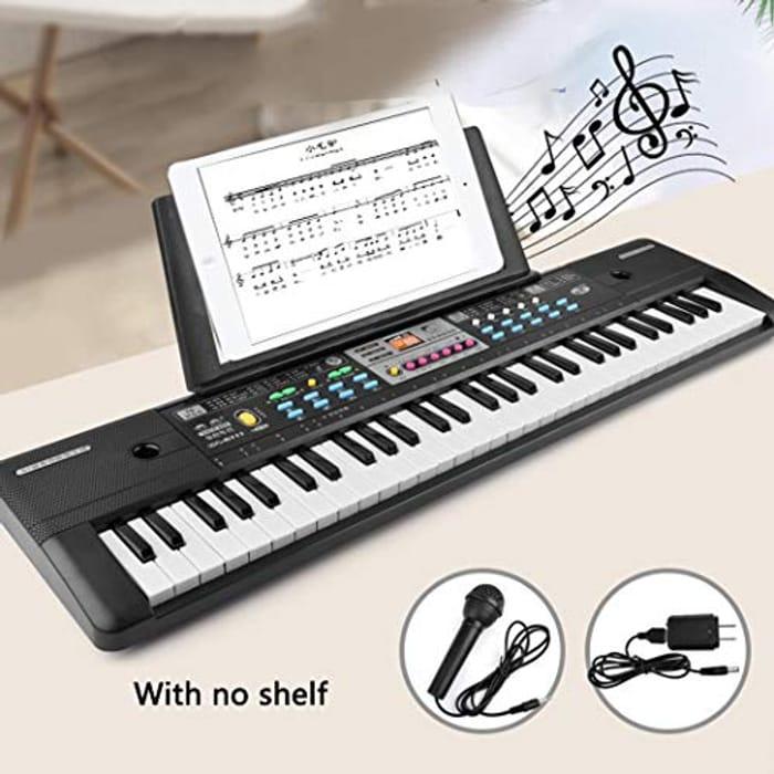 Amazing Gift 37 Key Keyboard with Microphone